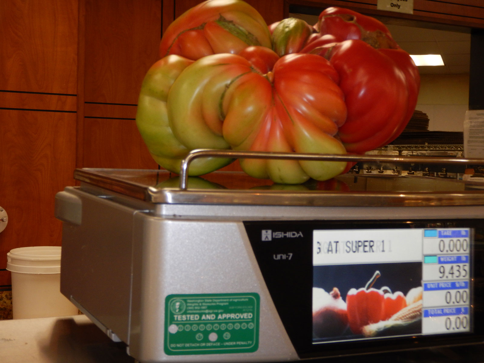 2018 World Record Tomato Dan Sutherland